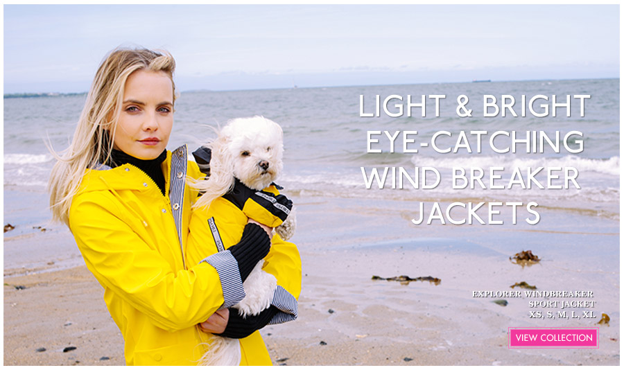View Urban Pup Light amp; Bright Spring Dog Jackets. Ideal lightweight dog jackets for Spring
