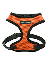 Burnt Orange Soft Harness - Our Burnt Orange Soft Harness has been designed by Urban Pup to provide the ultimate in comfort and safety. It features a breathable material for maximum air circulation that helps prevent your dog overheating and is held in place by a secure clip in action. The soft padded breathable side covers th...