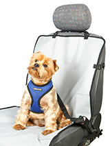 Front Car Seat Cover - This front seat waterproof cover will protect your car seat from claws, dirty paws damp and smells, not to mention other small accidents.The cover easily fits into your car and can be removed just as easily when you have passengers in the back seat.Waterproof design helps to prevent damage and stain...
