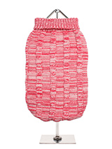 Pink Waffle Textured Knitted Sweater - Our Pink Waffle Textured Knitted Sweater has a tactile waffle-knit finish that is soft to the touch and easy on the eye. A high turtle neck and elasticated sleeves make this sweater extra cosy not to mention very stylish and chic.