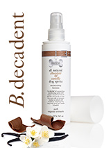 All Natural Chocolate & Vanilla Dog Spritz (200ml) - Our all natural chocolate & vanilla spritz spray is used to refresh and condition coats leaving them smooth and silky with the delicious rich scent of chocolate & vanilla. Features beneficial organic cocoa which is rich in protective, antioxidant flavonoids and wheat protein which has conditioning,...