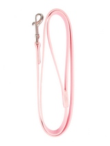 Pink Leather Matching Dog Lead - Matching lead (4ft / 1.2 m) for the Pink Leather Personalised Dog Collar (click the images to the right to view the collars).