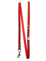 Red Leather Diamante Bone Charm Lead - Sparkling Bling Lead. This textured red leather lead has silver clip finished with a large sparkling diamante bone.<ul><li><b>S-M</b> Width: 14mm</li><li><b>M-L</b> Width: 19mm</li><li><b>L-XL</b> Width: 25mm</li><li>Lead Length: 1.08m / 48''</li></ul>