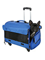 Large Blue Travel Carrier