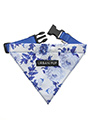 Blue Floral Bouquet Bandana
