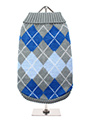 Grey / Blue Argyle Sweater