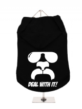 ''Deal With It!'' Dog Hoodie / T-Shirt