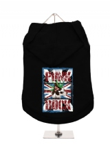 ''UK Punk Rock'' Dog Hoodie / T-Shirt
