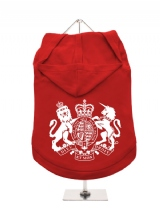 ''British Coat of Arms'' Dog Hoodie / T-Shirt
