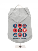 ''London Baby'' Dog Hoodie / T-Shirt