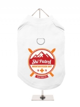 ''Ski Patrol'' Harness-Lined Dog T-Shirt