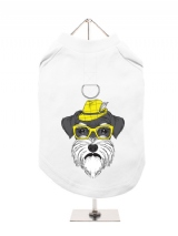 ''Humanimals: Schnauzer'' Harness-Lined Dog T-Shirt