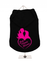 ''Best Friends Forever Heart'' Dog Hoodie / T-Shirt