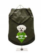 ''Save the Rainforests'' Dog Hoodie / T-Shirt