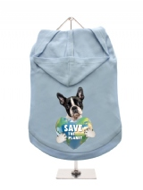''Save the Planet'' Dog Hoodie / T-Shirt