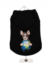 ''Stop Global Warming'' Dog Hoodie / T-Shirt