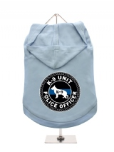 ''K9 Unit Police Officer'' Dog Hoodie / T-Shirt
