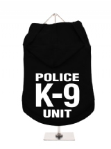 ''Police K-9 Unit'' Dog Hoodie / T-Shirt